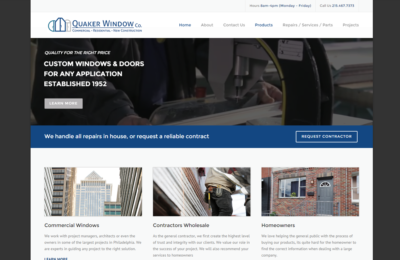 construction, real estate website design