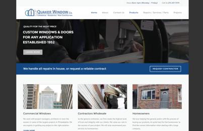 construction, real estate website design